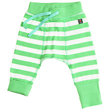 Buy Polarn O. Pyret Striped Trousers, Green Online at johnlewis.com