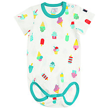 Buy Polarn O. Pyret Baby Lolly Bodysuit Online at johnlewis.com