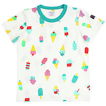 Buy Polarn O. Pyret Children's Lollies Print T-Shirt Online at johnlewis.com