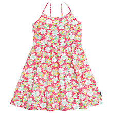 Buy Polarn O. Pyret Girls' Flower Dress, Pink Online at johnlewis.com