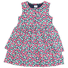 Buy Polarn O. Pyret Girls' Floral Ruffle Dress Online at johnlewis.com
