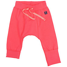 Buy Polarn O. Pyret Plain Trousers, Pink Online at johnlewis.com