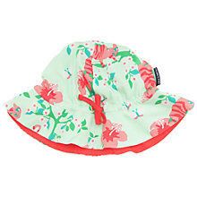 Buy Polarn O. Pyret Children's Flower Sunhat, Green Online at johnlewis.com