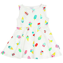 Buy Polarn O. Pyret Baby Lolly Dress, White Multi Online at johnlewis.com