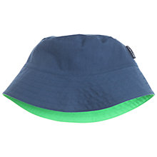 Buy Polarn O. Pyret Children's Reversible Sunhat, Blue Online at johnlewis.com