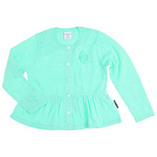 Buy Polarn O. Pyret Girls' Summer Cardigan, Turquoise Online at johnlewis.com