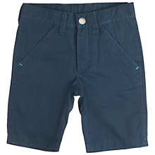 Buy Polarn O. Pyret Children's Chino Shorts, Blue Online at johnlewis.com