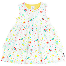 Buy Polarn O. Pyret Butterfly Girls' Dress, White Multi Online at johnlewis.com