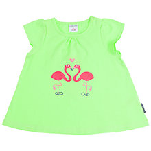 Buy Polarn O. Pyret Baby Flamingo Print Dress Online at johnlewis.com
