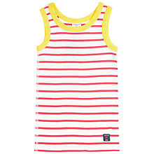 Buy Polarn O. Pyret Children's Striped Vest Online at johnlewis.com