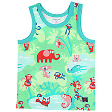 Buy Polarn O. Pyret Boys Animal Vest, Green Online at johnlewis.com