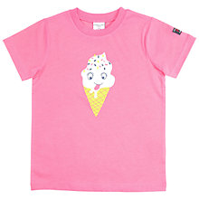 Buy Polarn O. Pyret Children's Ice Cream T-Shirt Online at johnlewis.com