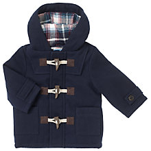 Buy John Lewis Baby Duffle Coat, Navy Online at johnlewis.com
