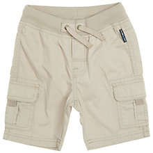 Buy Polarn O. Pyret Baby's Combat Shorts, Beige Online at johnlewis.com