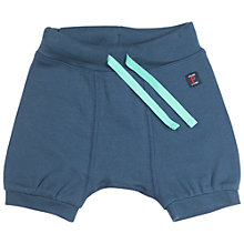 Buy Polarn O. Pyret Baby Cotton Shorts, Blue Online at johnlewis.com