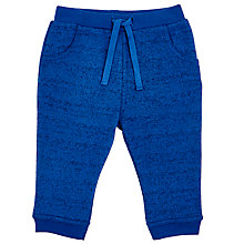 Buy John Lewis Baby's Two Tone Joggers, Blue Online at johnlewis.com