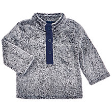 Buy John Lewis Baby's Seal Fleece, Grey Online at johnlewis.com