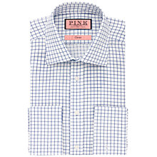 Buy Thomas Pink Newbery Grid Check XL Sleeve Shirt, White/Blue Online at johnlewis.com