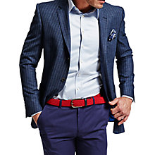 Buy Thomas Pink Franco Jacket, Navy/White Online at johnlewis.com