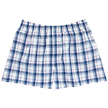 Buy Thomas Pink Middleton Check Boxers, Blue/White Online at johnlewis.com
