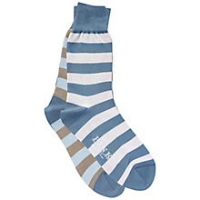 Buy Thomas Pink Odd Stripe Socks Online at johnlewis.com