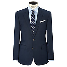 Buy Hackett London Nailshead Super 120s Wool Suit Jacket, Blue Online at johnlewis.com