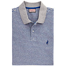 Buy Thomas Pink Raven Stripe Polo Shirt, Blue/Grey Online at johnlewis.com