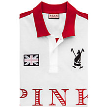 Buy Thomas Pink Reuben Plain Polo Shirt Online at johnlewis.com