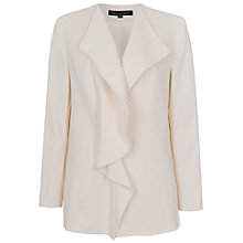 Buy French Connection Cassie Drape Jacket, Porcelain Online at johnlewis.com