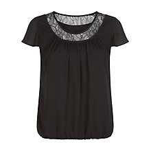 Buy Precis Petite Lace Trim Blouse Online at johnlewis.com