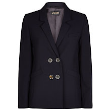 Buy Jaeger Double Breasted Blazer, Midnight Online at johnlewis.com