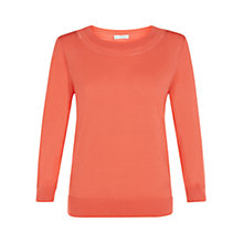 Buy Hobbs Sonia Jumper, Light Grenadine Online at johnlewis.com