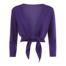 Buy Kaliko Tie Front Shrug Online at johnlewis.com