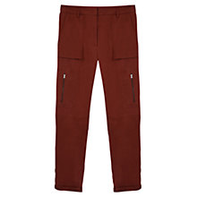Buy Gerard Darel Antilope Trousers, Terracotta Online at johnlewis.com