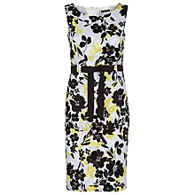 Buy Precis Petite Floral Print Clipse Dress, Multi Light Online at johnlewis.com
