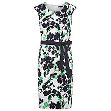 Buy Precis Petite Floral Pique Dress, Multi Online at johnlewis.com
