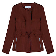 Buy Gerard Darel Azulejo Jacket, Terracotta Online at johnlewis.com
