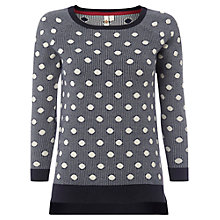 Buy White Stuff Beach Pebble Jumper, Navy Online at johnlewis.com