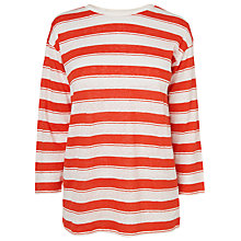 Buy L.K. Bennett Par Linen Printed Top Online at johnlewis.com