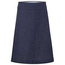 Buy White Stuff Bonded Reversible Skirt, Navy Online at johnlewis.com