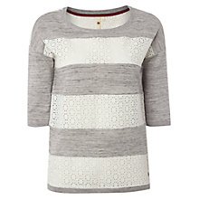 Buy White Stuff Kiribati Knit Top, Grey Online at johnlewis.com