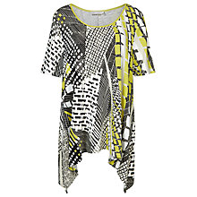Buy Windsmoor Printed Jersey Top, Multi White Online at johnlewis.com