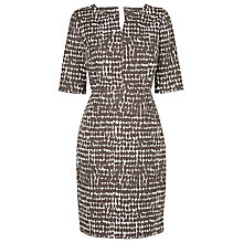 Buy L.K. Bennett Cho Printed Dress, Green Online at johnlewis.com