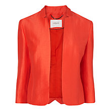 Buy L.K. Bennett Taysita Short Jacket, Satsuma Online at johnlewis.com
