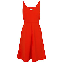 Buy L.K. Bennett Laverne Sleeveless Dress, Satsuma Online at johnlewis.com