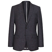 Buy Reiss Wilson Flecked Slim Fit Suit Jacket, French Navy Online at johnlewis.com
