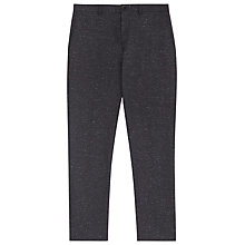 Buy Reiss Wilson Flecked Slim Fit Suit Trousers, French Navy Online at johnlewis.com