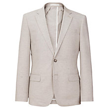Buy Reiss Wilson Flecked Slim Fit Suit Jacket, Stone Online at johnlewis.com