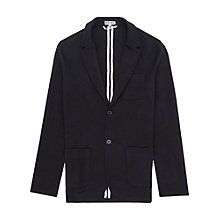 Buy Reiss Morsby Jersey Blazer, Navy Online at johnlewis.com