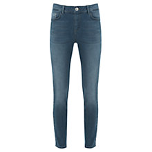 Buy Mint Velvet Fesno Pebble Wash Jeans, Navy Online at johnlewis.com